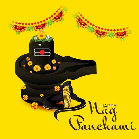Happy Nag Panchami. Ilustracja