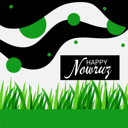 Vector illustration of a Background for Parsi New Year also known as Nowruz. 版權商用圖片 - 155513927