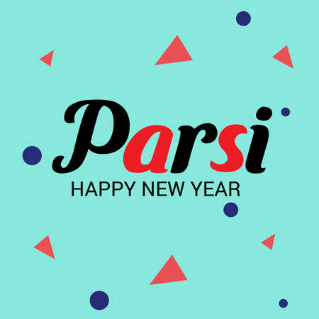 Vector illustration of a Background for Parsi New Year also known as Nowruz.