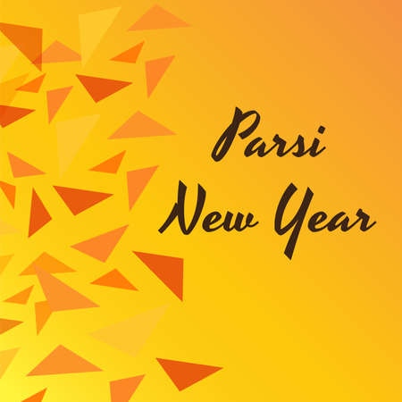 Vector illustration of a Background for Parsi New Year also known as Nowruz. 版權商用圖片 - 155514444