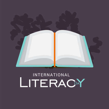 Vector illustration of a Background for International Literacy Day.