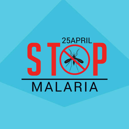 Vector illustration of a Background for World Malaria Day.