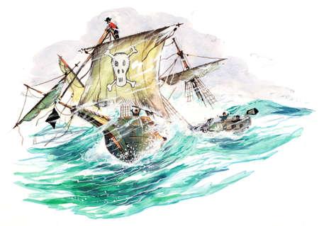 buccaneer: pirates in storm