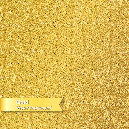 ゴールド スパングルのゴールドラメのテクスチャです。ベクトル図