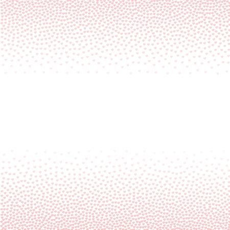 quartz: Rose quartz hearts Abstract blurred background. Valentines day background Illustration