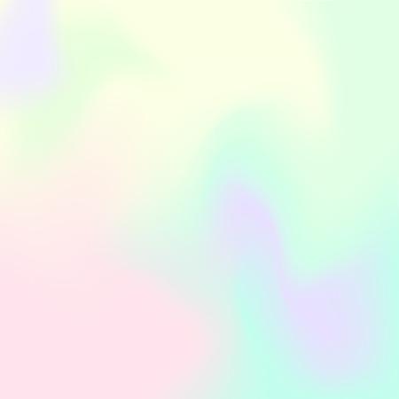 Hologram Hipster fond .Pastel couleurs de fond. Vector illustration
