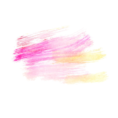 pink paint: Watercolor pink paint brush storkes. Watercolor background