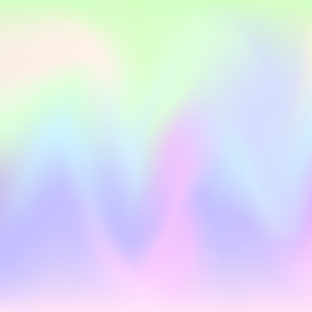 Hologram hipster background .Pastel colors background. Vector illustration