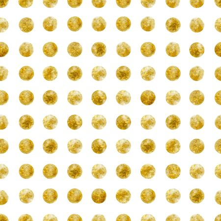 Geometric Seamless pattern of golden sequins Фото со стока - 77648991