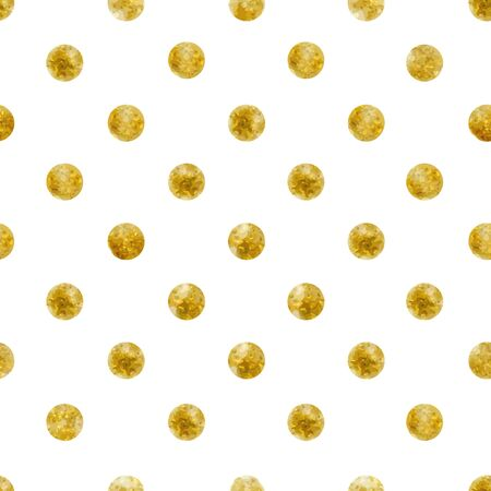 Geometric Seamless pattern of golden sequins Фото со стока - 77648995