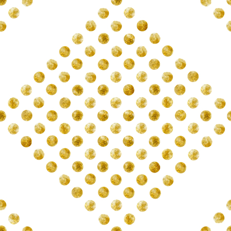 Geometric Seamless pattern of golden sequins Stok Fotoğraf