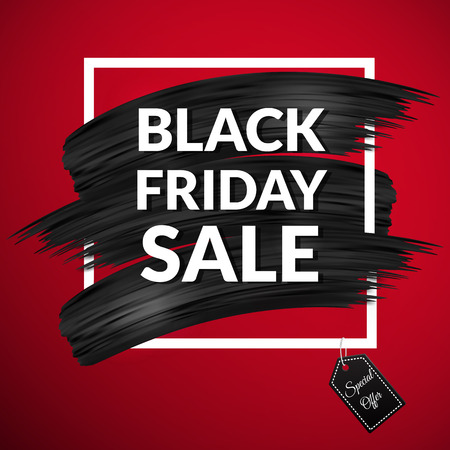 Black friday sale banner Stok Fotoğraf
