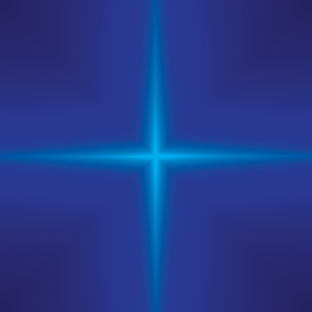 diminishing perspective: light rays in the blue ( design abstract )