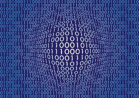 binary Stock Vector - 5665418