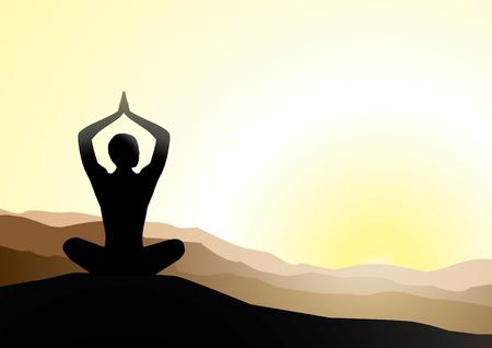 yoga Stock Vector - 6001558