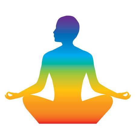 lotus position: yoga