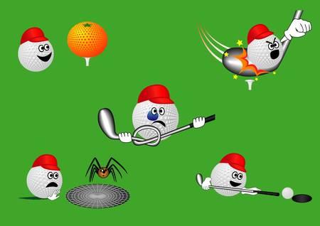 golfer swinging: Golf