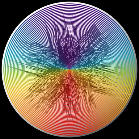 holography: Crystal color