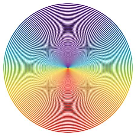 holography: disk Illustration