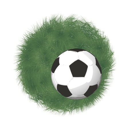 uefa: Fu�ball Illustration