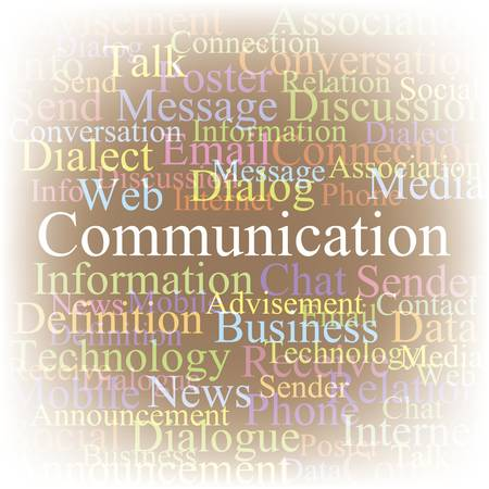 advisement: Communication Illustration