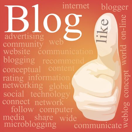 keyword: Blog  Tag cloud