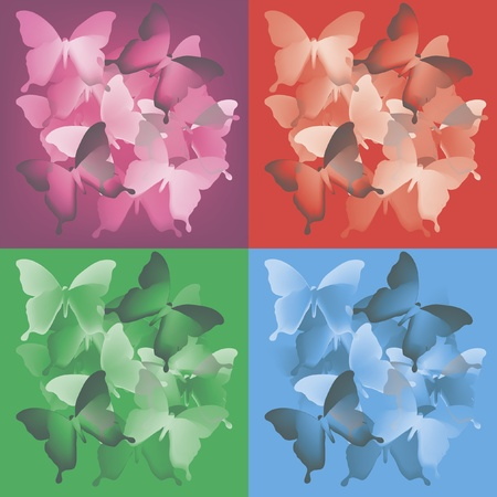 Butterflies Stock Vector - 13516470