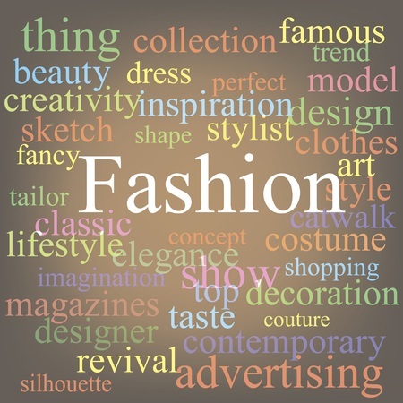 Fashion tag-cloud