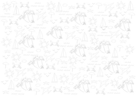voyage: Travel Illustration