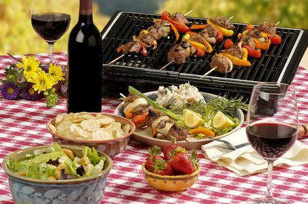 BBQ setting