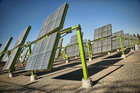 Many solar panels in california photo