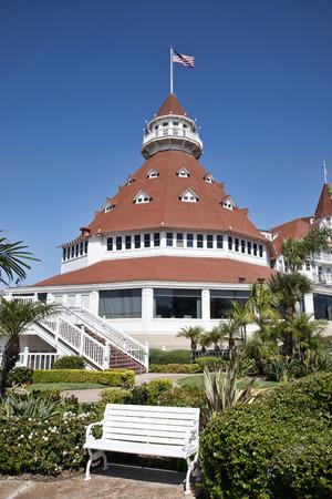 Beautiful Hotel Del Coronado in San Diego, California Editorial