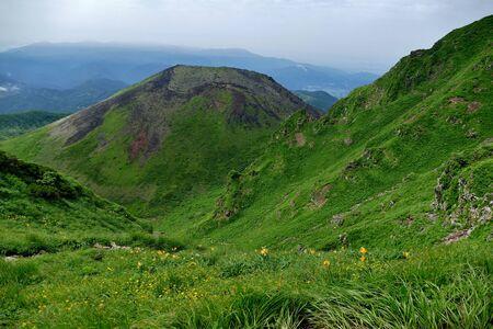 Climbing Akita Komagatake, Senboku City, Akita Prefecture