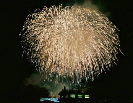 """Fireworks of The Omagari"", Daisen City, Akita Prefecture Japan"