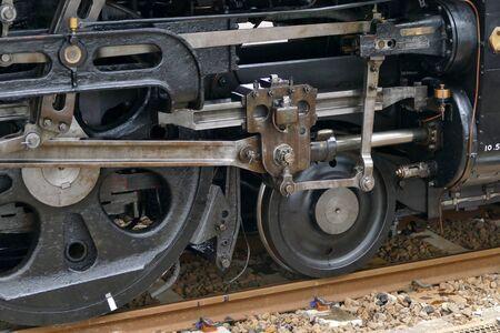 Steam Locomotive, Daisen City, Akita Prefecture Japan