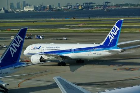 B787 Haneda Airport