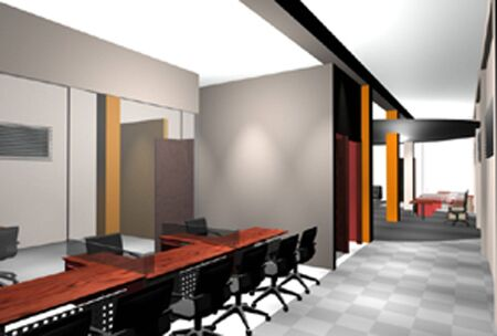 kitchen studio: Interiors - (for similar images see my portfolio) Stock Photo