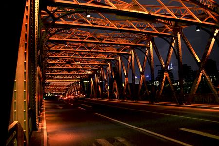 night scenery: shanghai night scenery Editorial
