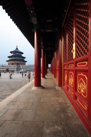 temple of heaven: Temple of Heaven at Beijing city, China.