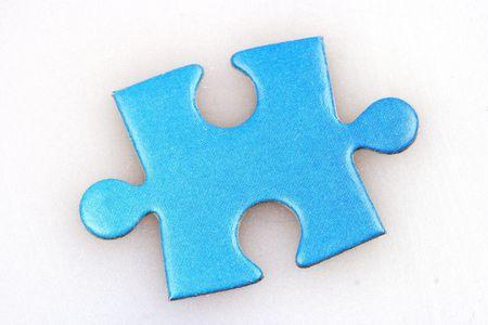 puzzelen: Een ontbrekend stuk van een puzzel.