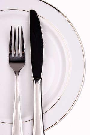 Plaats de instelling van een restaurant die close-up.
