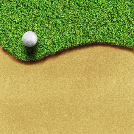 golf hole: Golf course