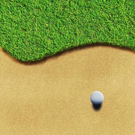 putter: Golf course