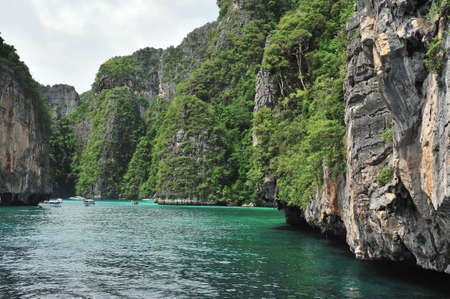 phi phi island: Beautiful bay of Phi Phi island at day time