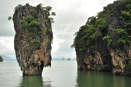 phang nga: Phang Nga Bay, James Bond Island, Thailand