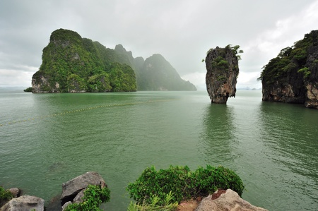 Phang Nga Bay, James Bond Island, Thailand photo