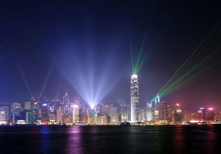 홍콩에서 빛의 심포니