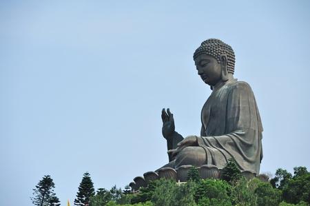 big buddha: Tian Tan Buddha in Hong Kong