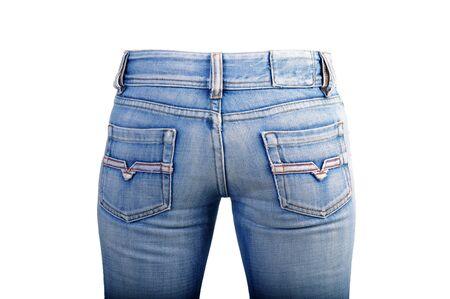 Blue jean photo
