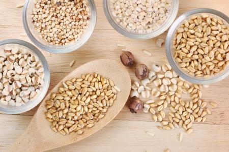 Cereales de grano photo